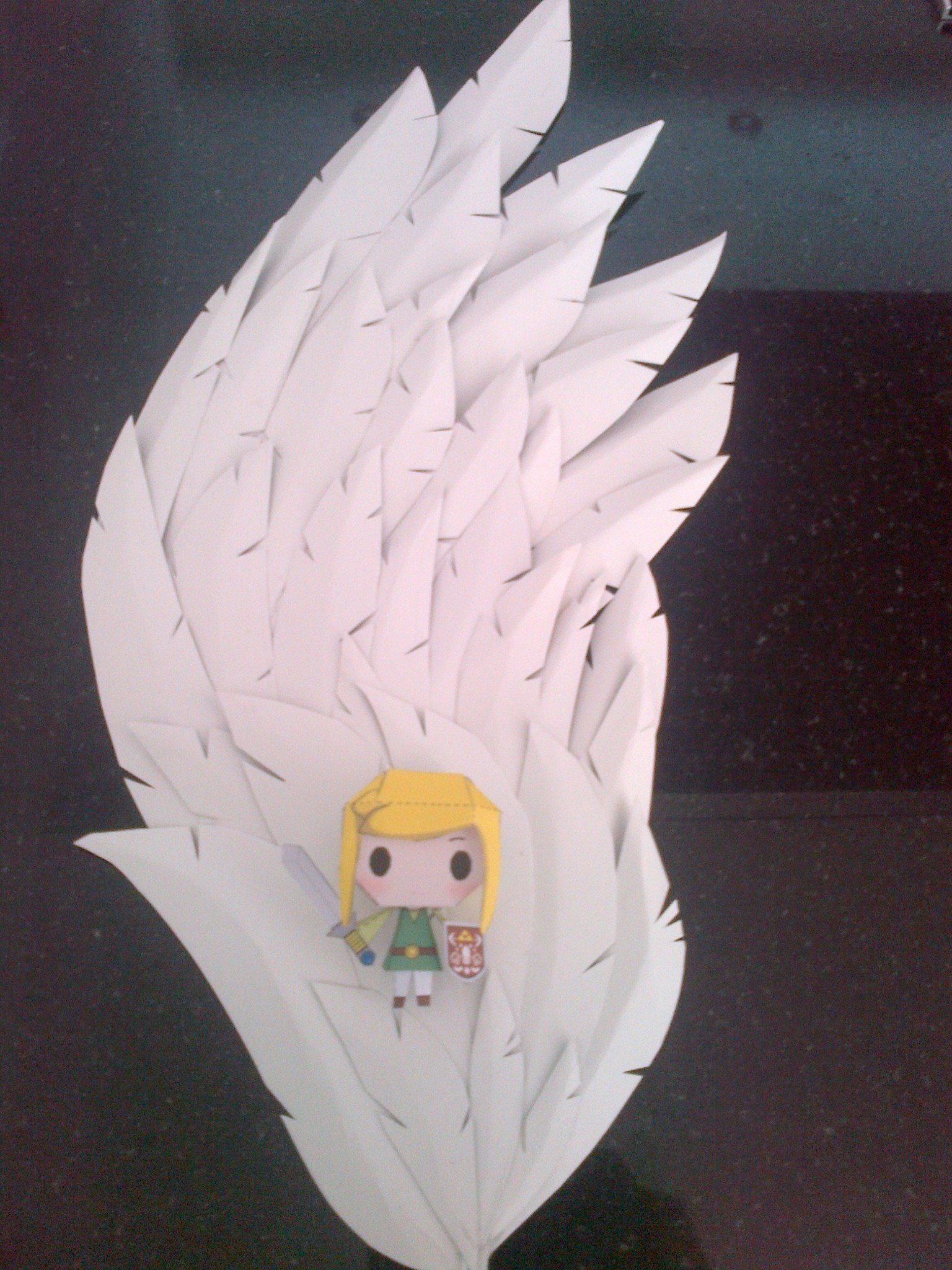 PaperCraft Foam Wings  How To Make A Wing  Papercraft on Cut Out  Keep