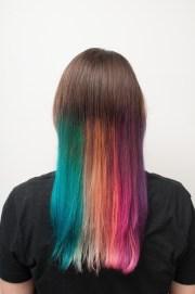 rainbow hair extract diy