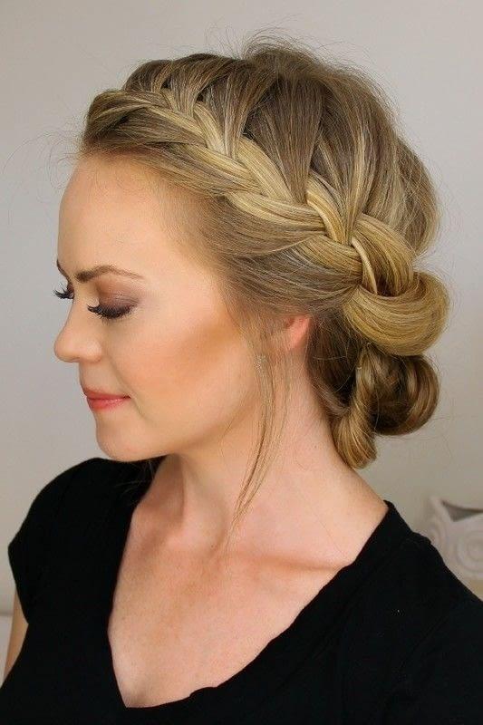 Headband Hair Tuck With A Bun How To Style A Chignon
