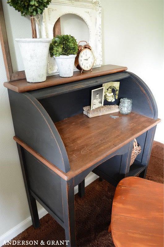 Restoring A Broken Roll Top Desk  How To Make A Desk