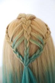 arrow braid style