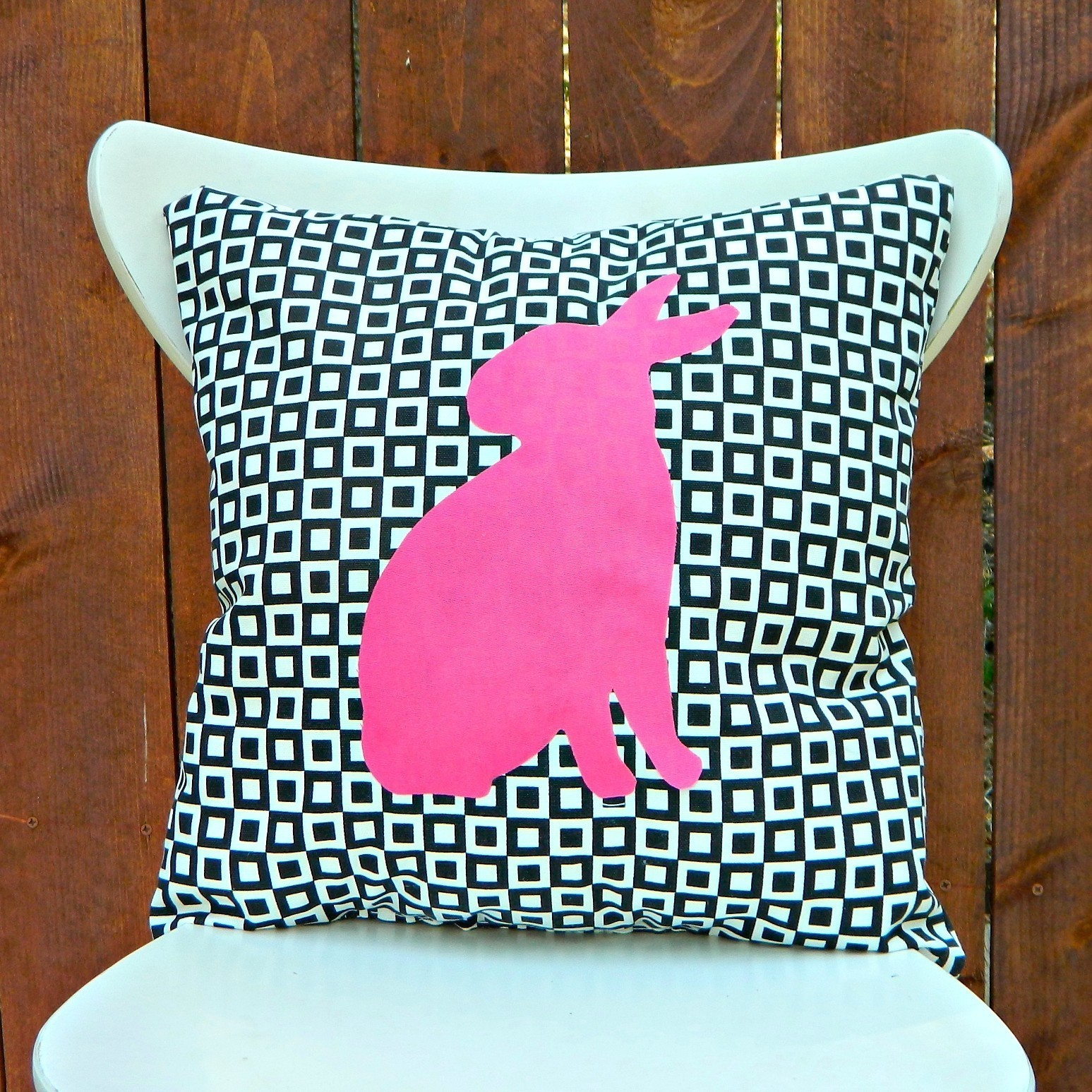 Graphic Animal Silhouette Pillows  How To Sew An Applique