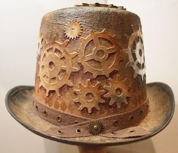 Steampunk Top Hat Make Art Cut