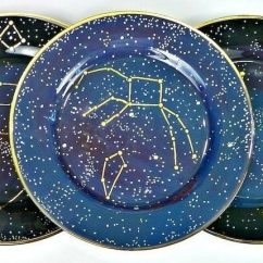 Kitchen Safe Shoes Colors For Cabinets Constellation Dishes · How To Make A Plate Decorating On ...