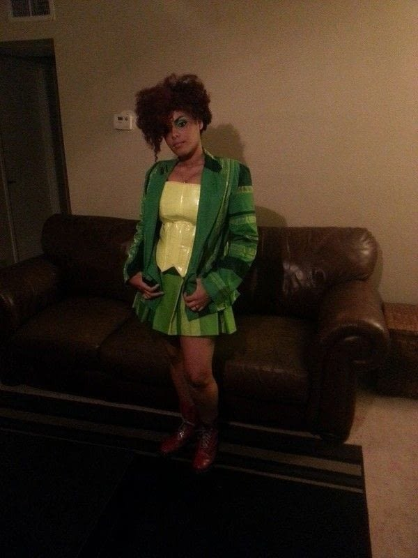 Drop Dead Fred A Blazer Suit Sewing On Cut Out