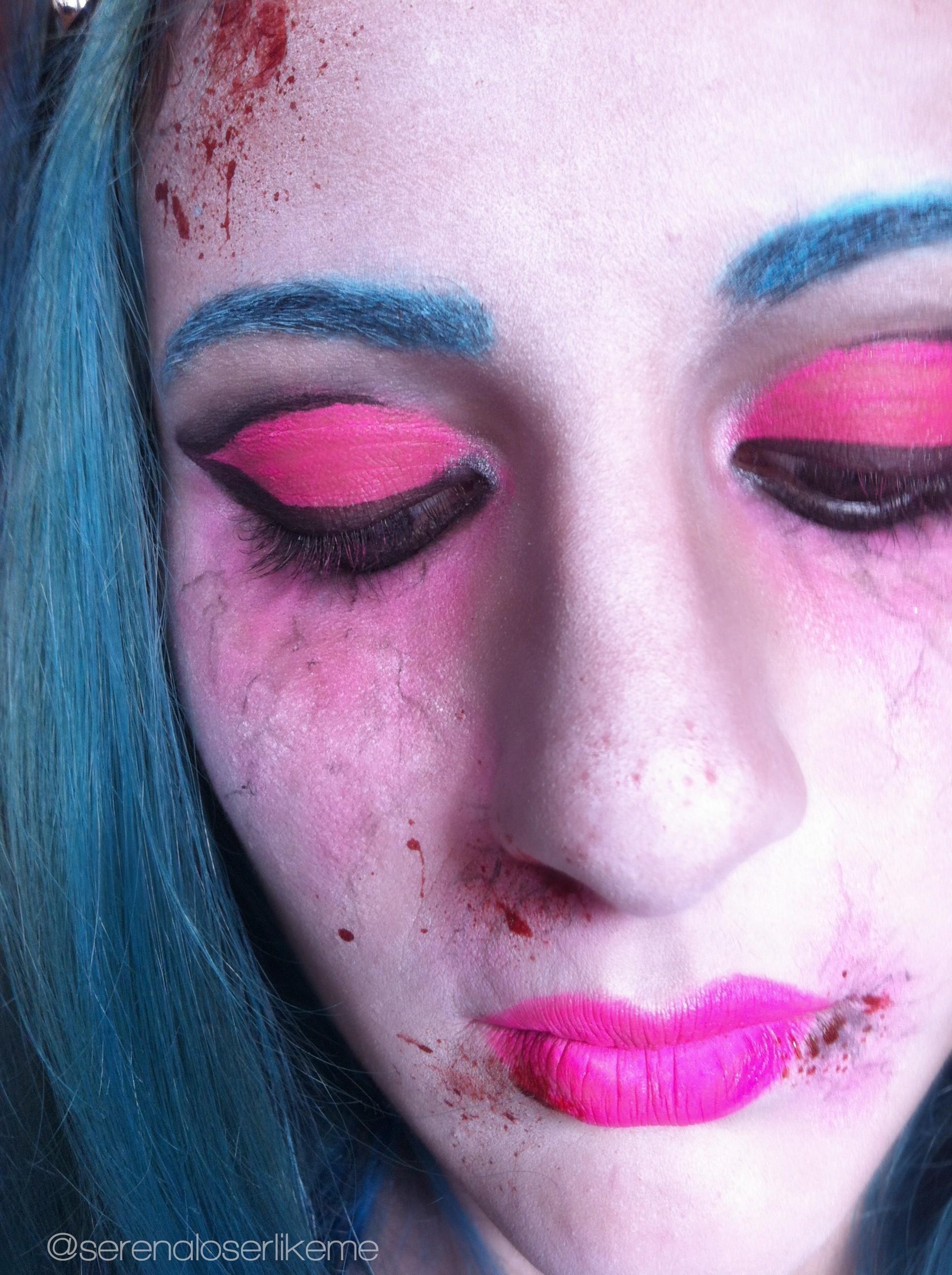 Cartoon Zombie Princess Halloween Makeup Tutorial 183 How