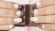 chocolate dipped pastel colored
