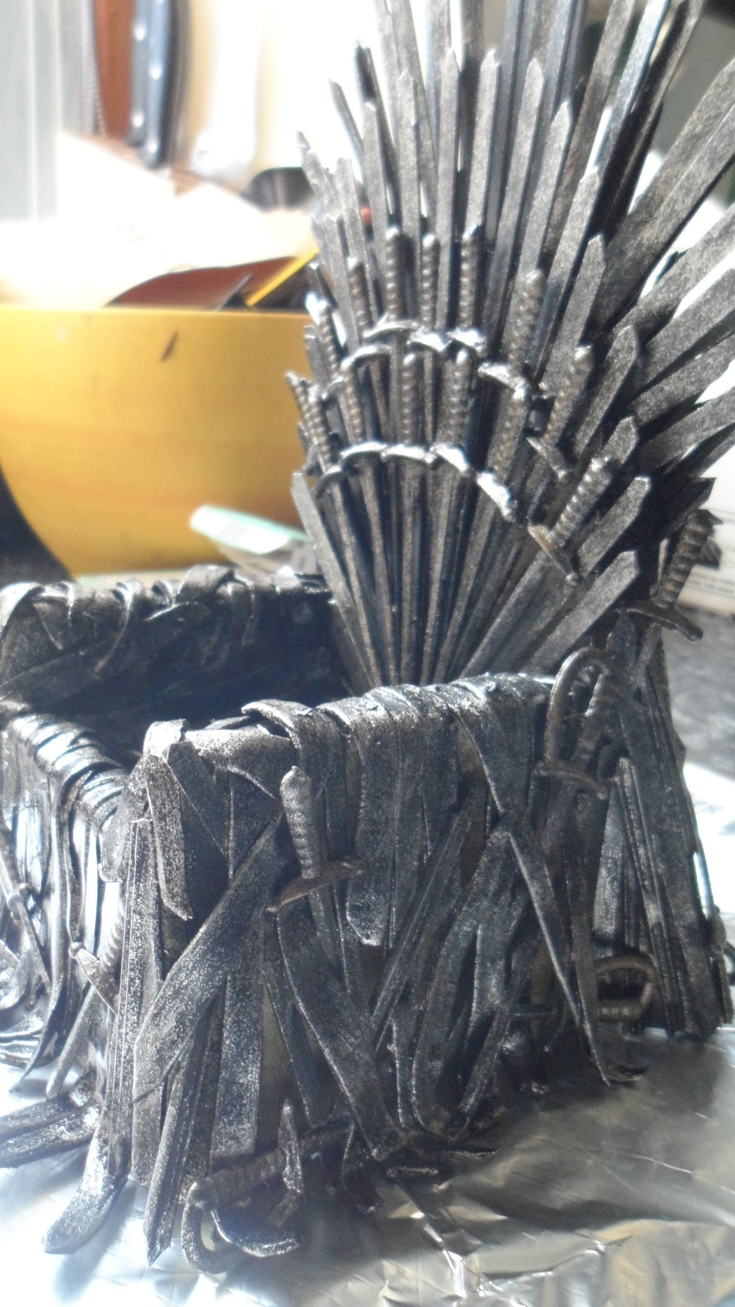 Iron Throne For Your Phone  How To Make A Piece Of
