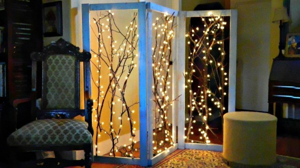 Twinkling Branches Room Divider Make