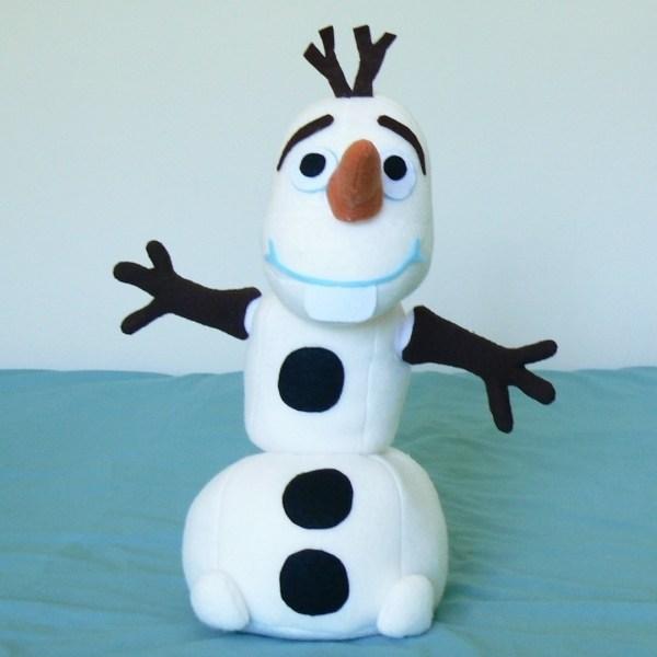 Olaf Build A Snowman Plush How To Make A Snowman Plushie