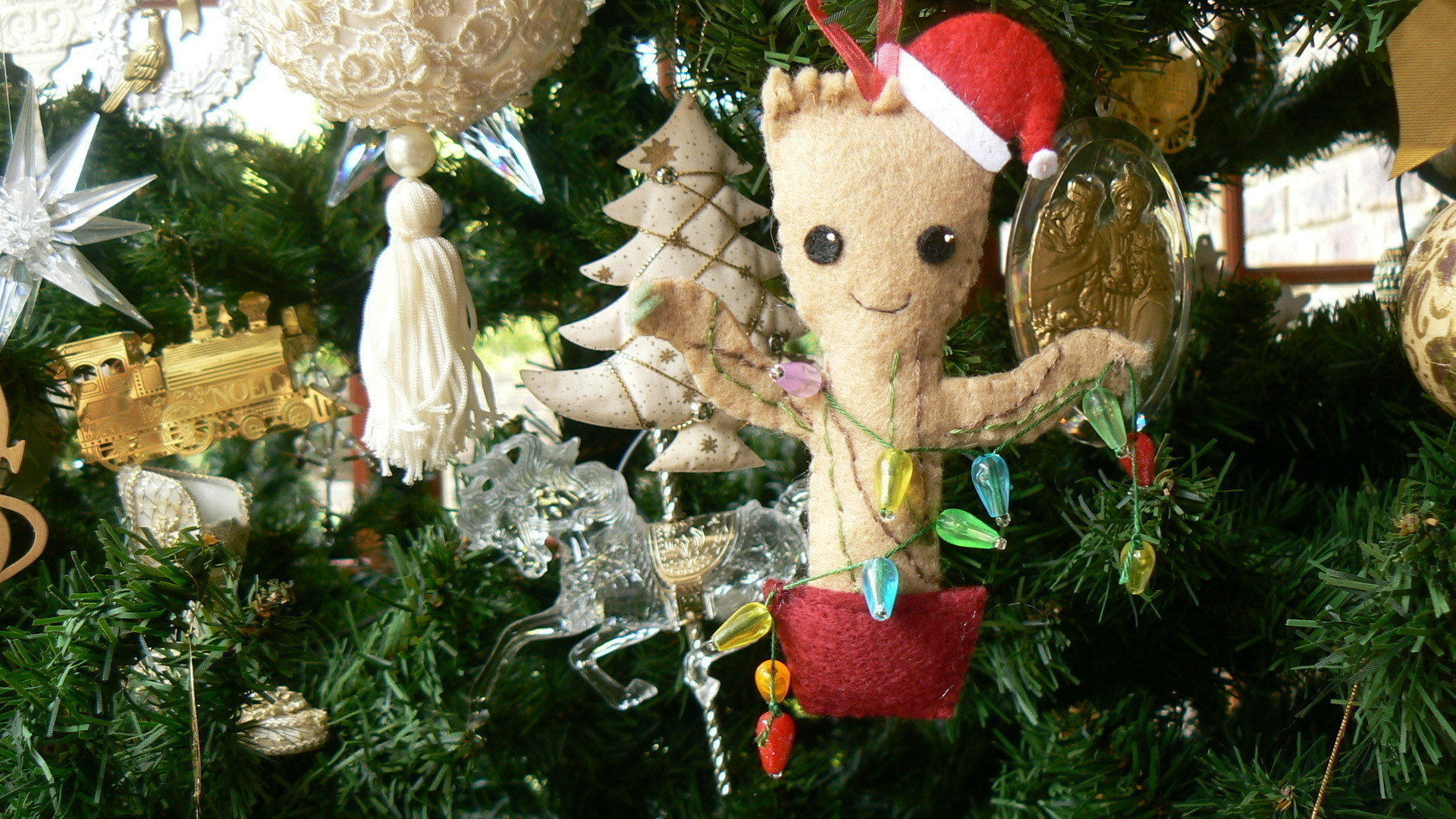 Groot Christmas Ornament How To Make A Christmas Tree