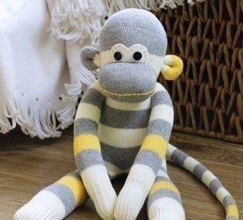 Sock Monkey How To Make A Monkey Plushie Sewing On Cut