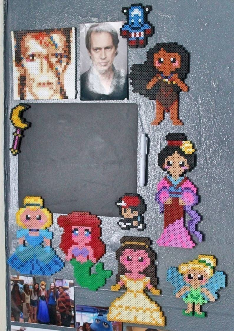 Pixel Princesses  How To Make A Pegboard Bead Charm