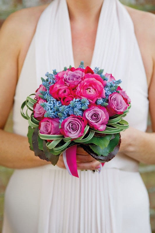 Modern Victorian Posy Extract From Paula Pryke Wedding