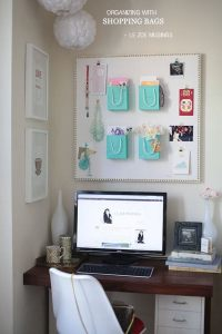 Organizing With Tiffany  How To Make A Wall Tidy Storage ...