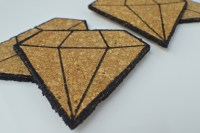 Diamond Cork Coasters  How To Make A Cork Coaster  Home