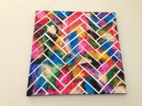Wall Art: Herringbone Painting  How To Paint A Painting ...