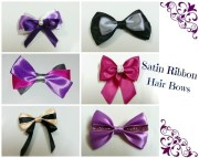 diy hair bows 3 ribbons