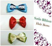 diy hair bows 4 ribbons