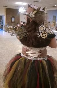 Steampunk Fairy  An Chracter Costume  Other on Cut Out ...