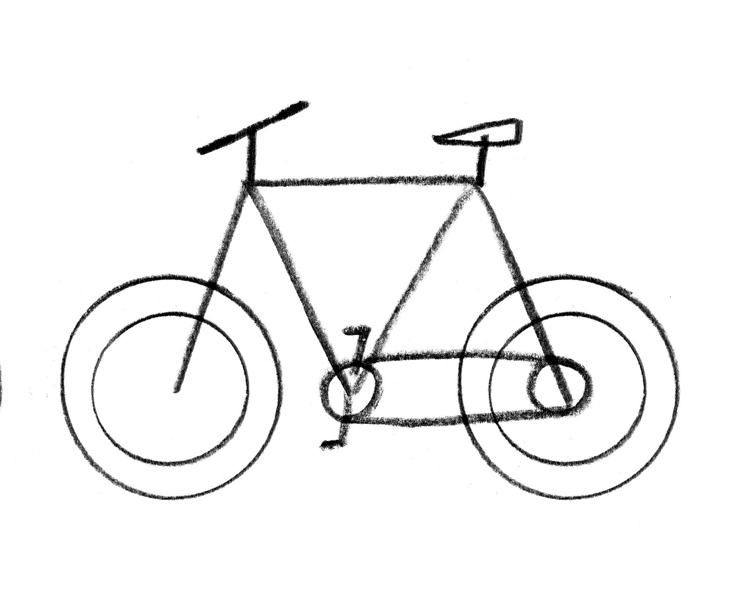 How To Draw A Bicycle · Extract from Let's Make Some Great