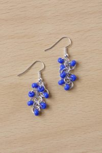 Easy Seed Bead Earrings  How To Make A Pair Of Beaded