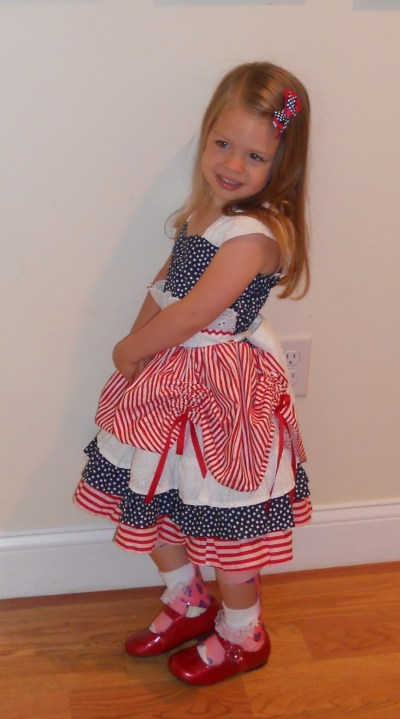 4th Of July Beauty · A Costume Dress · Sewing on Cut Out ...