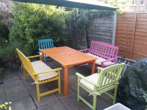 Outdoor Painted Furniture Ideas