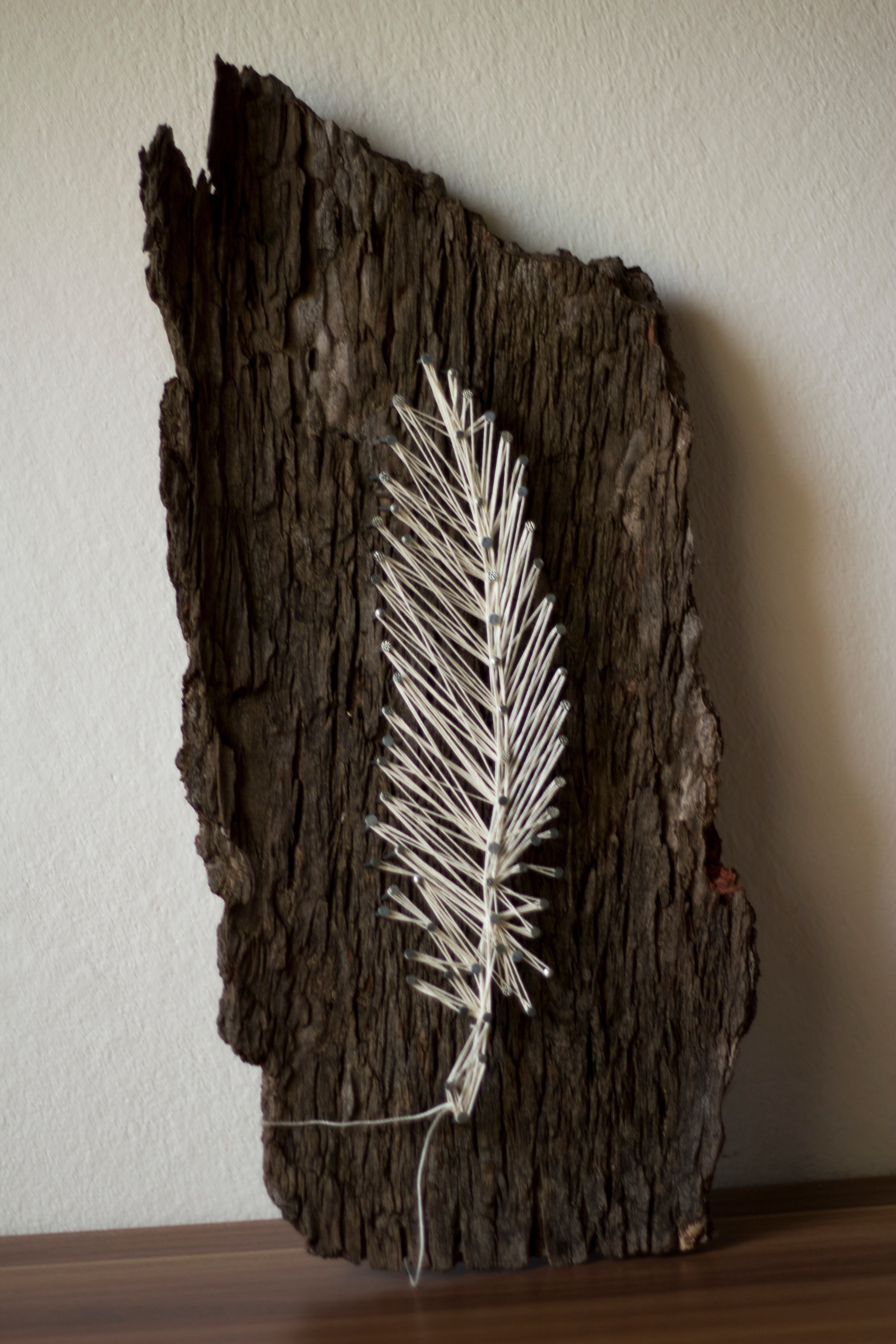 String Art Feather How To Make Decorating On Cut Out Keep