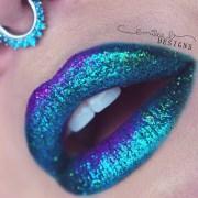 glitter ombre lip paint