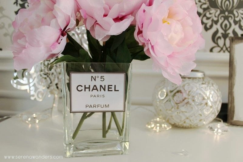 Diy Chanel N5 Parfum Vase How To Make A Vase Home DIY On Cut Out Keep