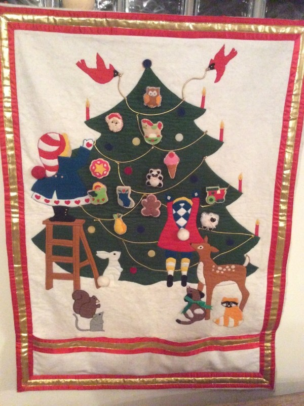 Heirloom Felt Advent Calendar Sewing Cut