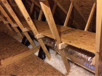 Diy Storage Shelves In The Attic  How To Make A Shelf ...