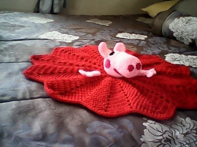 Peppa Pig Security Blanket  A Baby Blanket Comforter