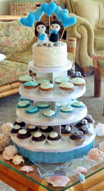 Crochet Wedding Cake Topper A Shape Plushie Yarncraft