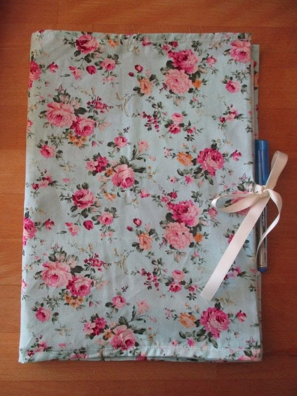 Fabric Folder How To Make A Fabric Book Cover Sewing On Cut Out Keep