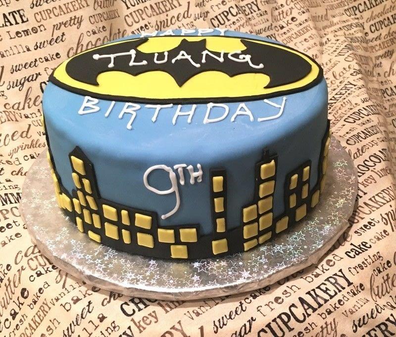 Blue Desserts Birthday