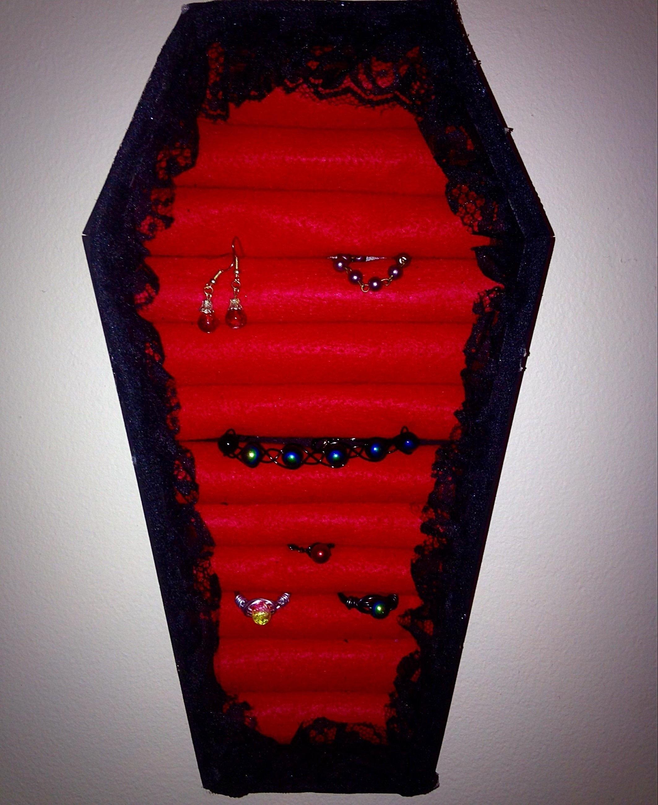 Diy Coffin Jewelry Box How To Make A Jewelry Display