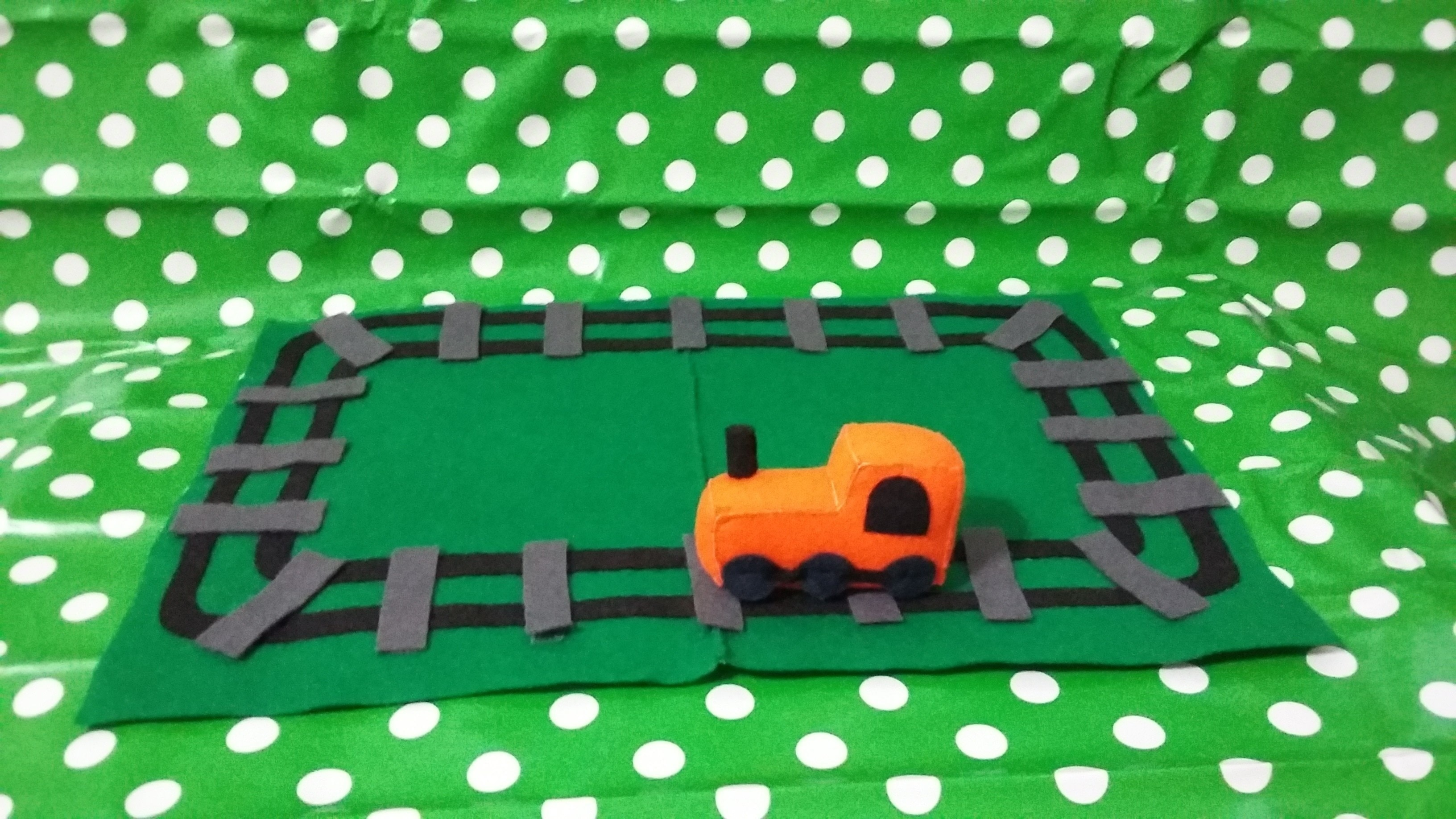 Felt Train Amp Track Playset How To Make An Object Plushie