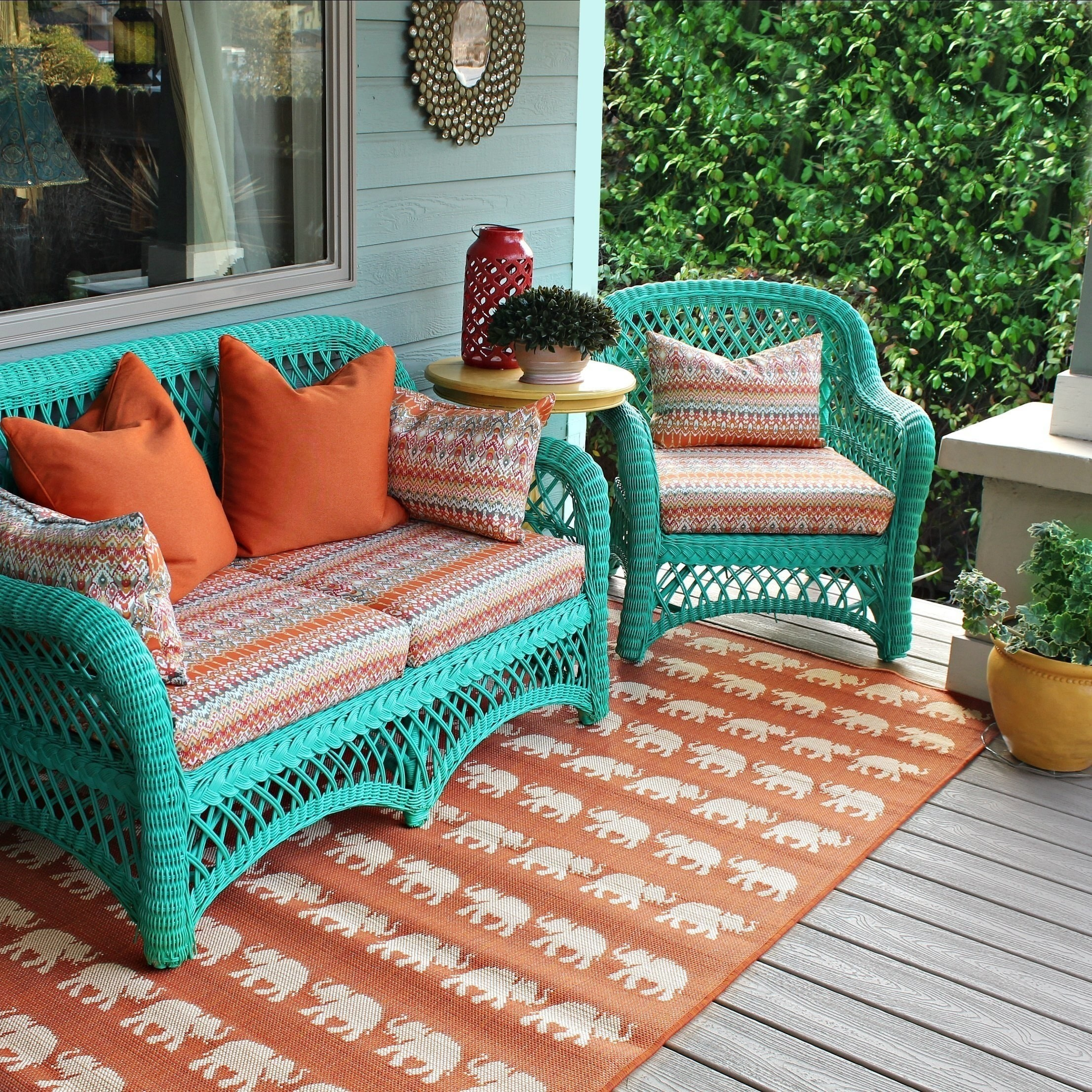 No Sew Patio Cushions And Pillows  How To Make A PillowCushion  Decorating on Cut Out  Keep