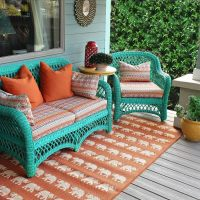 No Sew Patio Cushions And Pillows  How To Make A Pillow ...