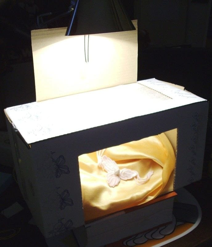 Light Box From Recycled Materials How To Make A Light