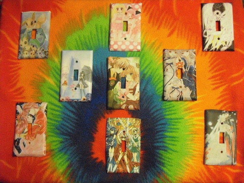 Anime Switch Plate Cover How To Make A Light Switch Decoupage On Cut Out Keep