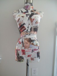 Decoupage Mannequin  How To Make A Mannequins  Decoupage ...