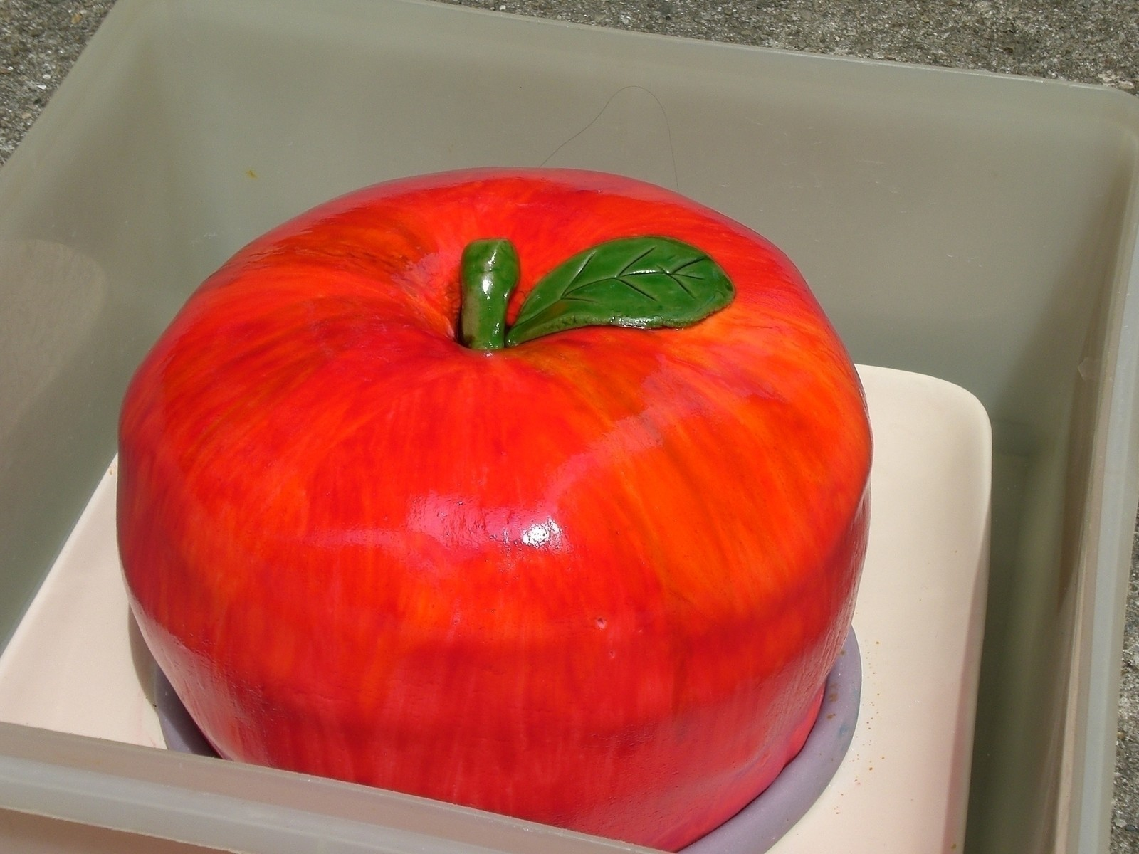 Amazing Apple Cake 183 How To Decorate A Food Shaped Cake