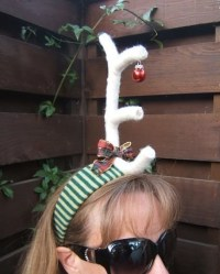 Max From The Grinch Antler Headband  How To Make An ...