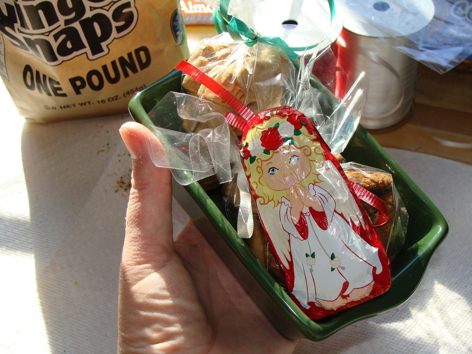 Mini Ceramic Loaf Pan Gift Idea How To Make A Gift Basket Decorating On Cut Out Keep