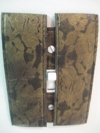 Leather And Lace Light Switch Cover  How To Make A Light ...