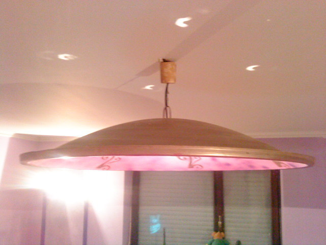 Diy Satellite Dish Chandelier  How To Make A Hanging Light  Decorating on Cut Out  Keep