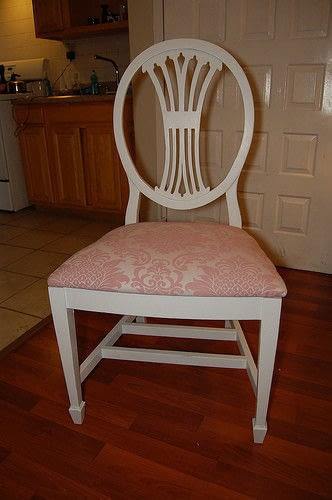Pretty In Pink Chair Makeover How To Make A Chair